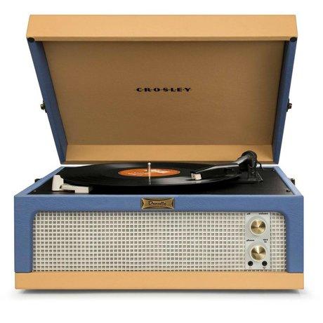 Crosley Radio Crosley radio Crosley Dansette Jr blauw beige 35,5x40,6x19cm