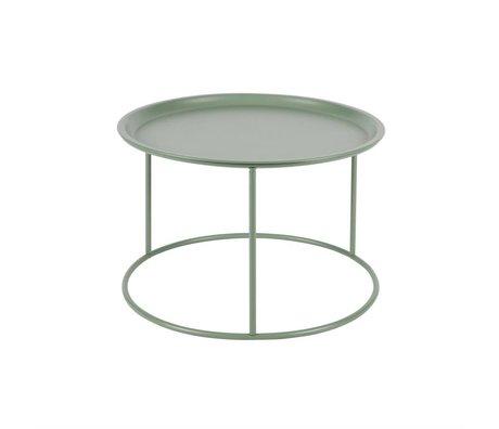 LEF collections Occasional Table Ivar jade vert métallique L 37,5x56cm