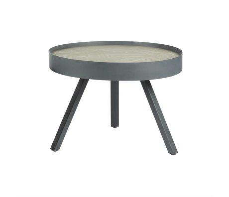 LEF collections Bijzettafel Skip grijs beton M Ø58x44 cm