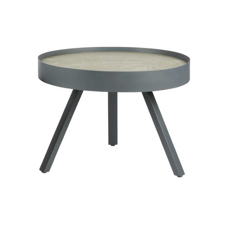 LEF collections Side Table Skip gray concrete M Ø58x44 cm