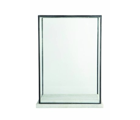 Housedoctor Stolp / Showcase glas 17x28x38cm
