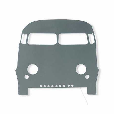 Ferm Living Wall lamp Car dark gray wood 27x22,5cm