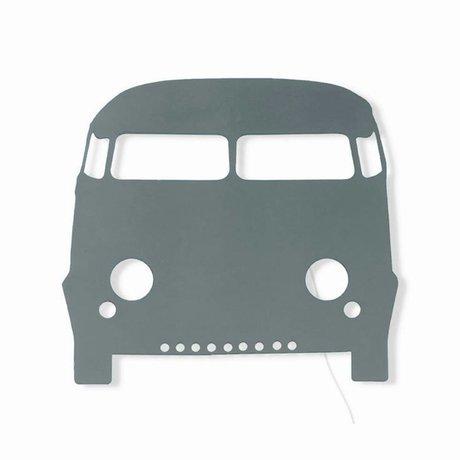 Ferm Living Wandlamp Car donker grijs hout 27x22,5cm