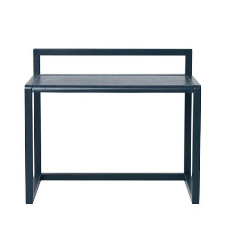 Ferm Living Bureau Little Architect donker blauw hout 70x45x60cm