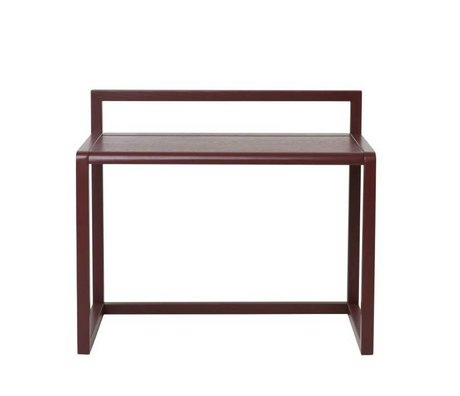 Ferm Living Architect desk Little burgundy wood 70x45x60cm