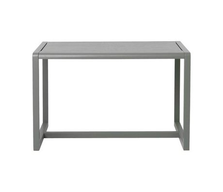 Ferm Living Table Little Architect gray wood 76x55x43cm