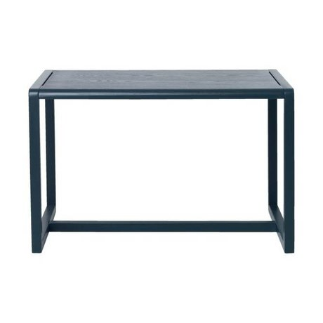 Ferm Living Table Little Architect dark blue wood 76x55x43cm