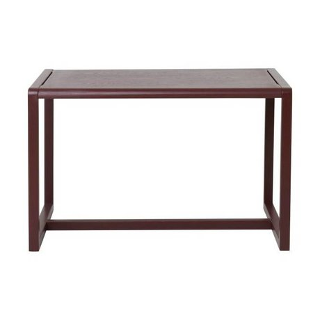 Ferm Living Table Little Architect burgundy wood 76x55x43cm