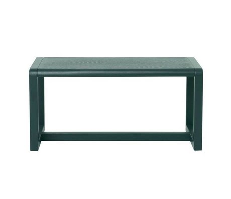 Ferm Living Banc de Little Architect 62x30x30cm vert foncé