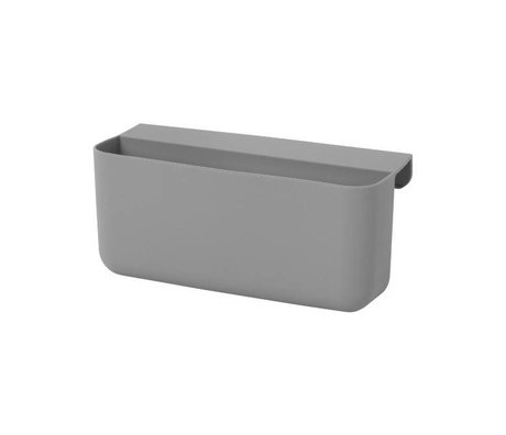 Ferm Living Storage Tray Little Architect big gray sillecone 16,5x8,5x10cm