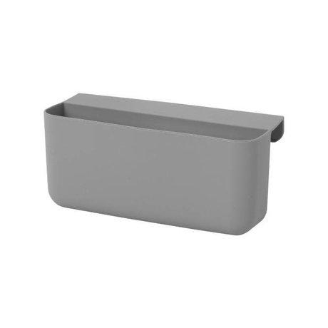 Ferm Living Lagertablett kleine Architekt große graue sillecone 16,5x8,5x10cm