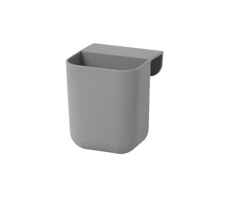 Ferm Living Storage Tray Little Architect small gray sillecone 8x8,5x10cm