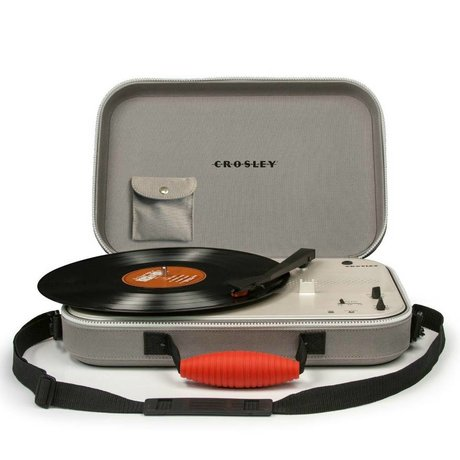 Crosley Radio Crosley Radio Crosley Messenger gray 39x29,8x9cm