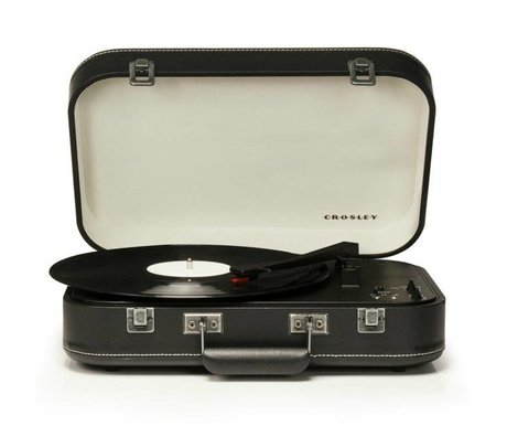 Crosley Radio Crosley Radio Crosley Coupe Black 39x29,8x9cm
