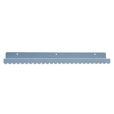 Eina Design Wall shelf gray metal 50x9cm