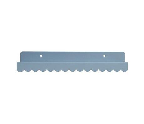 Eina Design Wall shelf gray metal 29x9cm