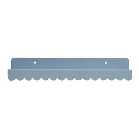 Eina Design Wandregal grau Metall 29x9cm