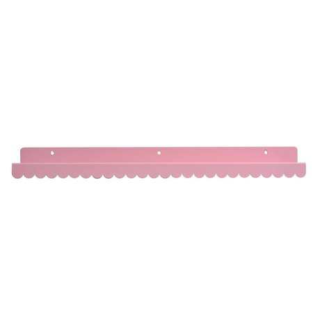 Eina Design Wall shelf light pink metallic 50x9cm