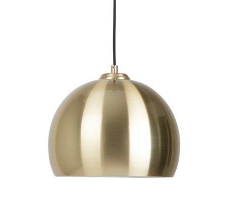Zuiver Big pendant light Glow brass metal Ø27x21cm