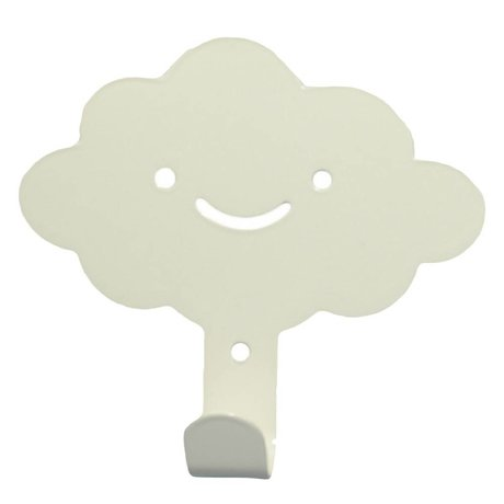Eina Design Wall Hook cloud white metal 14x13cm