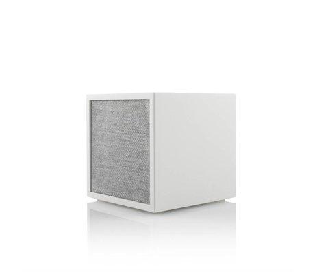 Tivoli Audio Bose® weiß grau Holz 11,7x11x11cm
