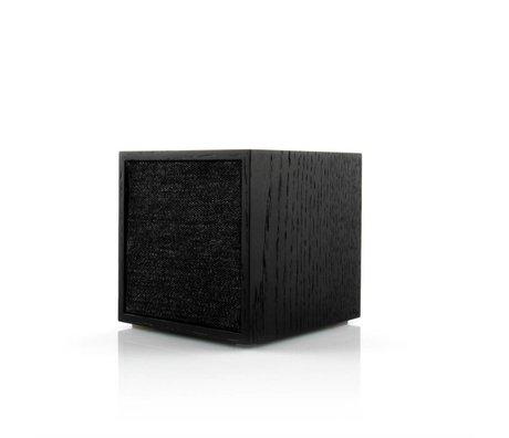 Tivoli Audio Lautsprecher Cube schwarz Holz 11,7x11x11cm
