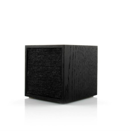 Tivoli Audio Speaker Cube black wood 11,7x11x11cm