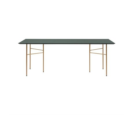 Ferm Living Tabletop Mingle Linoleumvorfellstücke 65x135x2cm