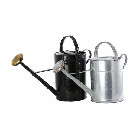 Housedoctor Bewässerung schwarzem Metall Ø45cm 10L