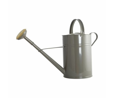 Housedoctor Gieter grijs metaal ø45cm 10L