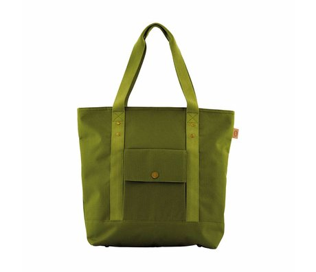 Housedoctor Cool bag Shopper green polyester, aluminum, 36x13x42cm