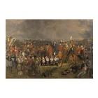 Arty Shock Malerei Pieneman - Die Schlacht von Waterloo M Mehrfarben Plexiglas 80x120cm