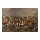 Arty Shock Painting Pieneman - The Battle of Waterloo M multicolor plexiglass 80x120cm
