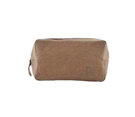 Housedoctor Toiletry Nomadic Kraft 24x10x14xcm d'olive
