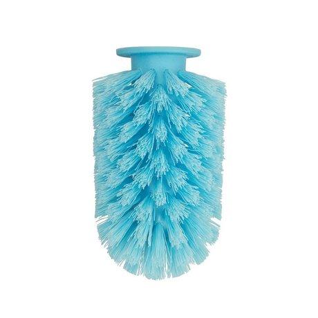 Normann Copenhagen Toilet brush head Ballo blue plastic Ø7,5x12,5cm