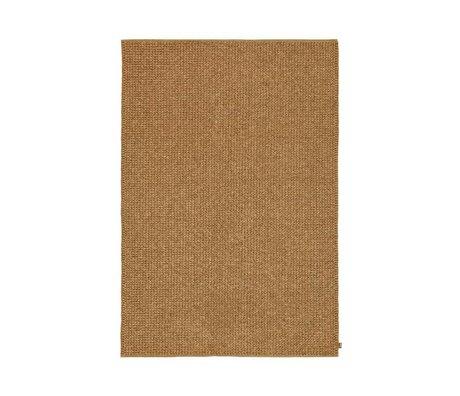 LEF collections Vloerkleed Marquise goud textiel in 2 maten