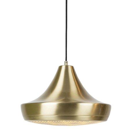 Zuiver Pendentif Gringo Pendant Light 35x25cm en métal doré