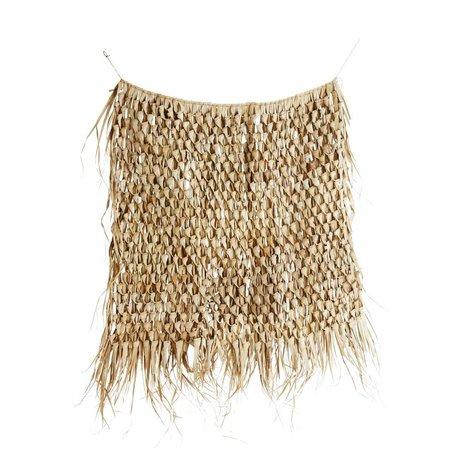 Madam Stoltz Wallcloth natural brown sea grass 120x150cm