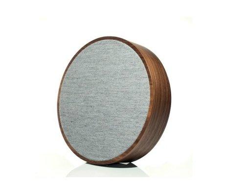 Tivoli Audio Speaker Orb bruin grijs hout Ø23x5cm