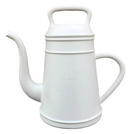 Xala Watering can Lungo light gray plastic ø26x43cm 12L