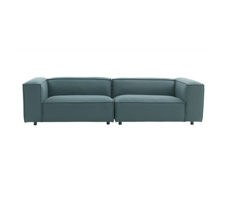 FÉST Bank Dunbar 3-seat green Hero991 square 302x103cm