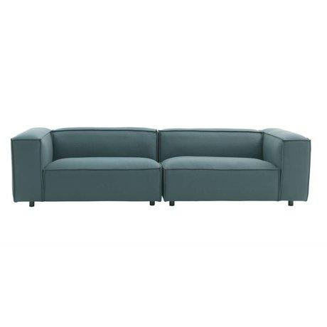 FÉST Sofa Dunbar 3-Sitzer grün Hero991 kvadrat 302x103cm