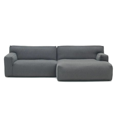 FÉST Sofa Clay anthracite gray Sydney96 1.5-seater and divan left or right