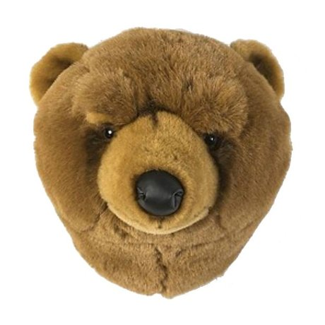 Wild and Soft Animal brown bear Oliver textile 37x32x32cm