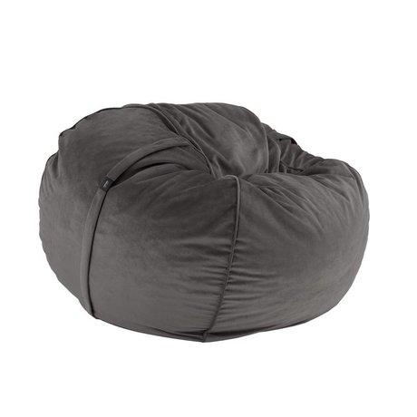 Vetsak Beanbag Velvet einzigen dunklen Samt Ø110x70cm 600liter