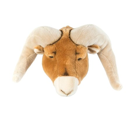 Wild and Soft ram animale Anthony Brown textile 37x45x30cm