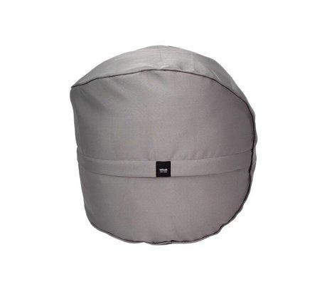 Vetsak Hocker im Freien gratis grau Polyester Ø60x60cm 100 Liter