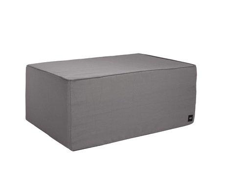 Vetsak Hocker Free outdoor gray polyester L 90x58x40cm