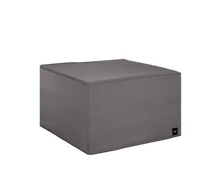 Vetsak Hocker gris extérieur gratuit polyester M 58x58x40cm