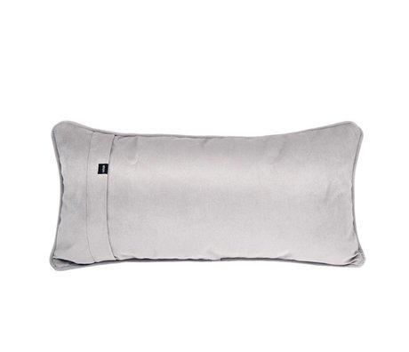 Vetsak Kissen Velvet grauer Samt 60x30cm